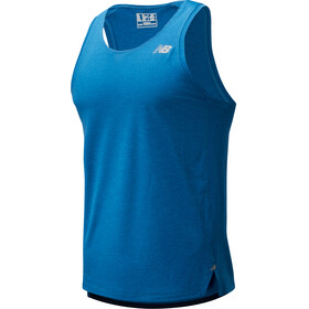 New Balance Impact Run Singlet Heren, mako blue